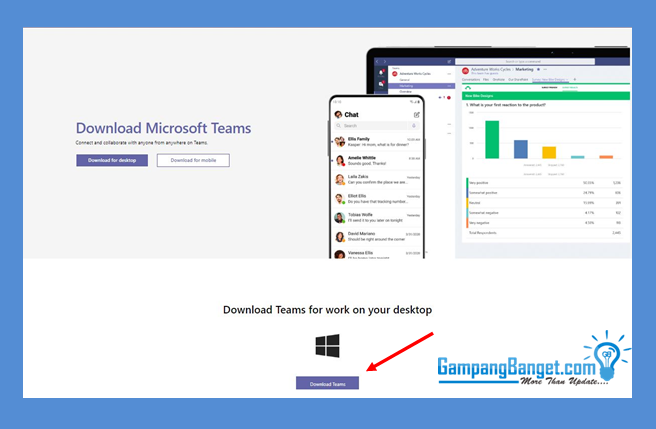 Cara Download Microsoft Teams di Personal Computer