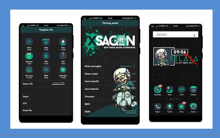 Download Theme XSAGON Tembus Semua Aplikasi
